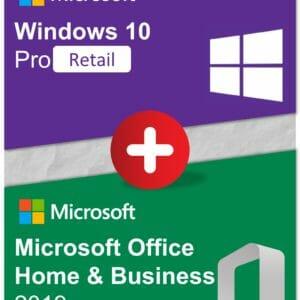 Bundle Win10Pro OfficeHB2019