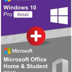 Bundle Win10Pro OfficeHS2019