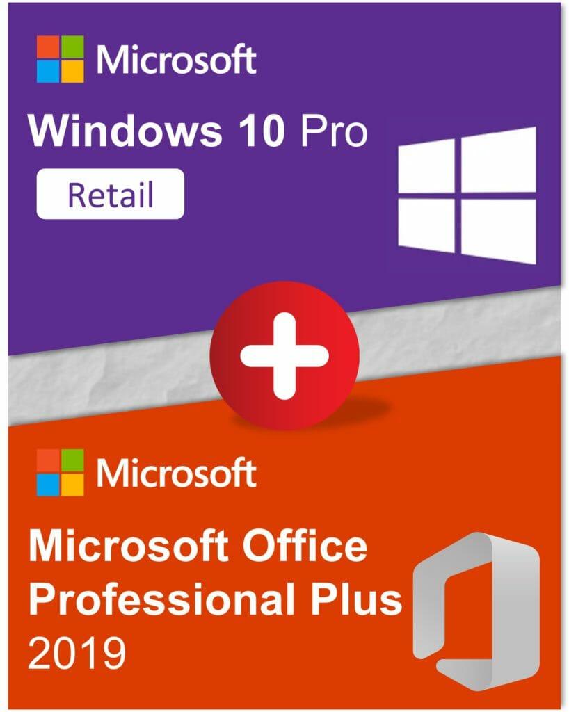 Bundle Win10Pro OfficeProPlus2019